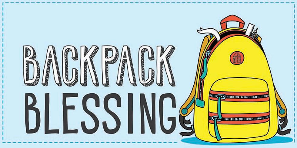 Backpack Blessings!