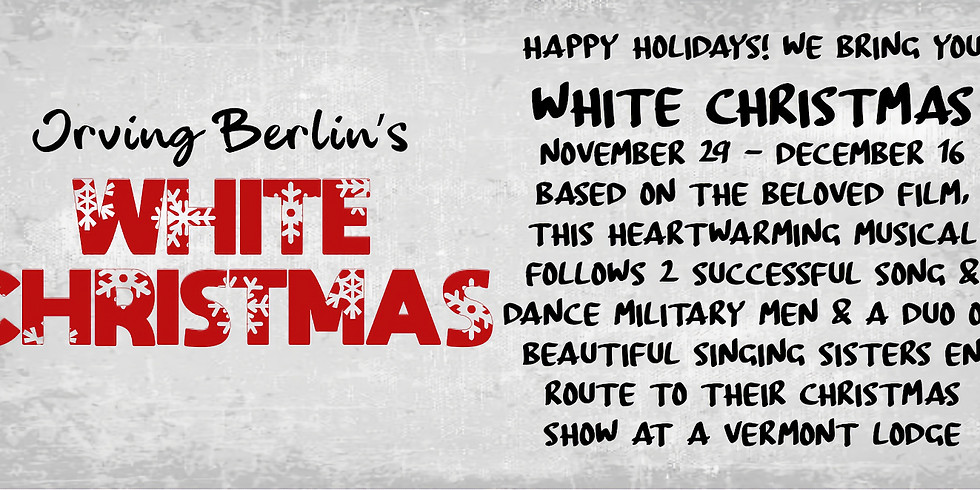 Firehouse Theaters' White Christmas