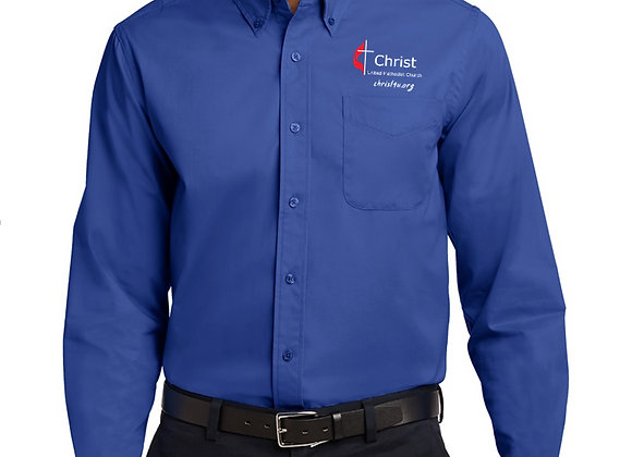 Long Sleeve Easy Care Shirt Tall (More Color Option Pictures)
