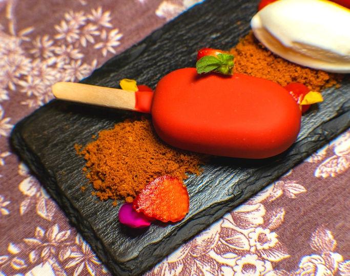 Tarta de Queso Bañada en Chocolate Valrh
