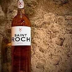3) Château Saint-Roch Le Rosé (Grenache Gris y Mourvedre) Côtes du Roussillon.