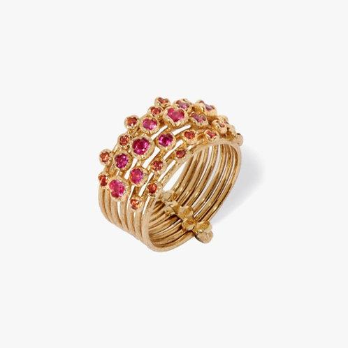 Hidden Reef 18ct Gold Sapphire Ring - PRE ORDER