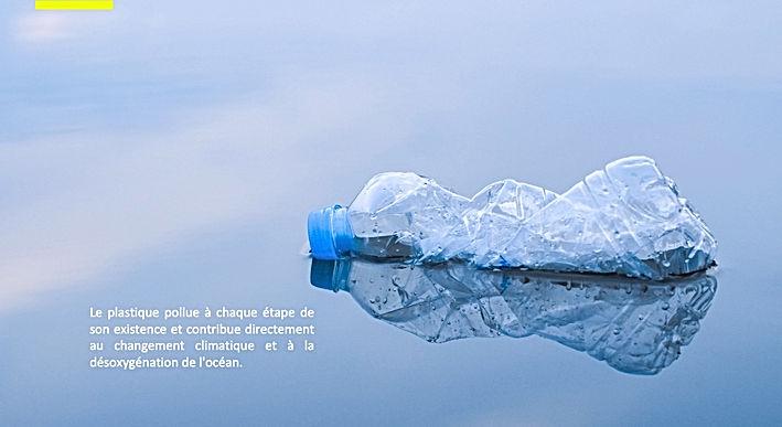 Le plastique pollue tout au long de son