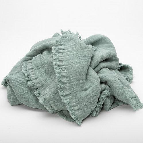 Vanly Harmony Blanket - Celadon by Maison Pechavy
