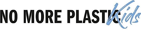 Logo No More Plastic KIDS DEF Blue June2