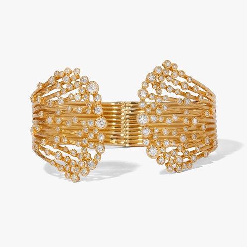 Hidden Reef 18ct Gold Diamond Cuff - ONLY ONE