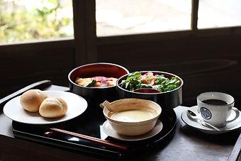 Kumeya's western style breakfast