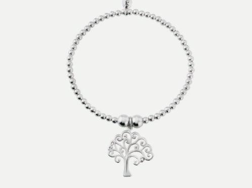 Sterling Silver Tree of Life Charm Bracelet