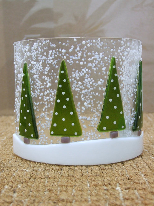four Green tree Christmas Tree Arch - by CraftExe
