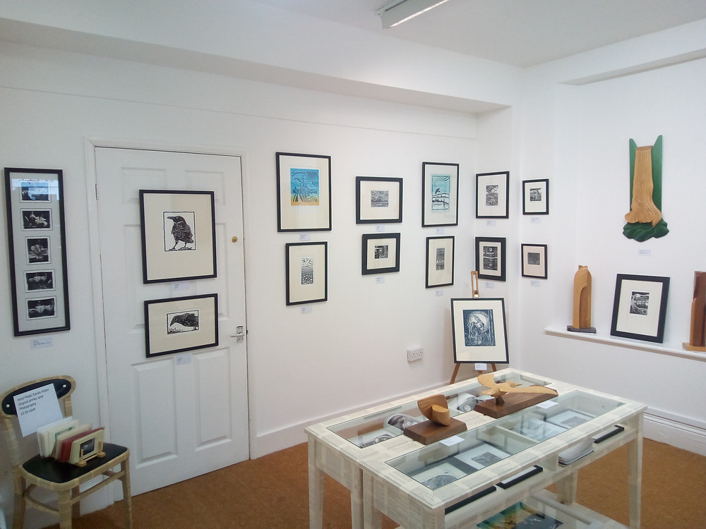 A range of prints and sculpture by Paul Warner