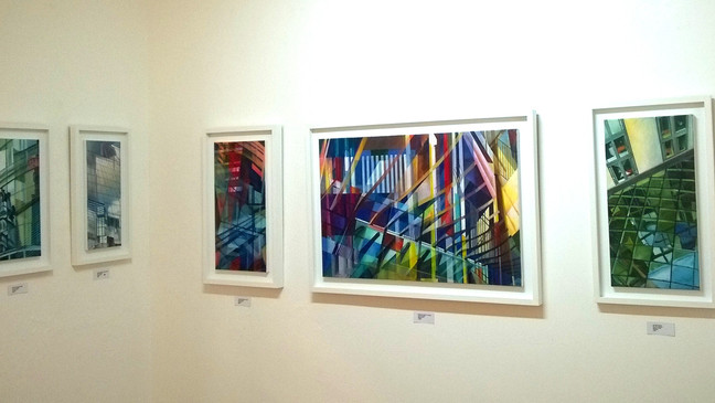 Last few days to see Susan Williamson Exhibition - Urban Architecture European Travels