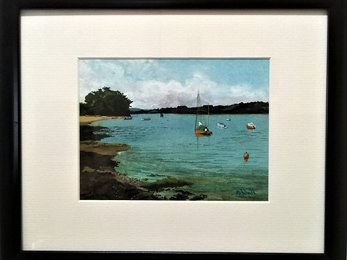 'A Day By The River Teign' by Mike Wall