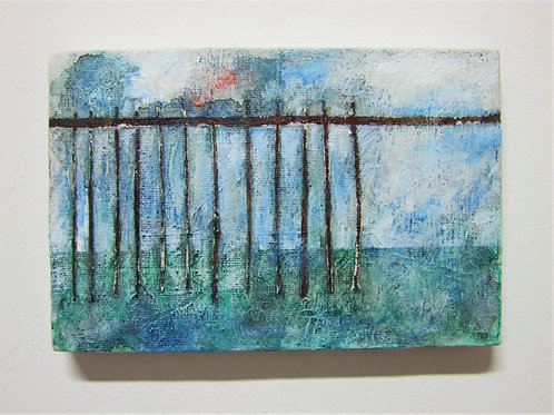 'Groynes and Piers 2' By R. Karabekian