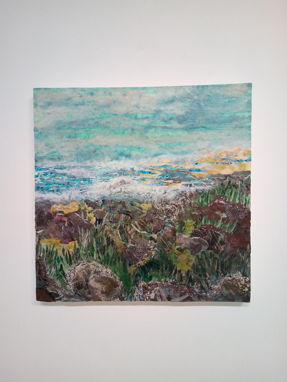 Mixed media on Canvas 60cm x 60cm