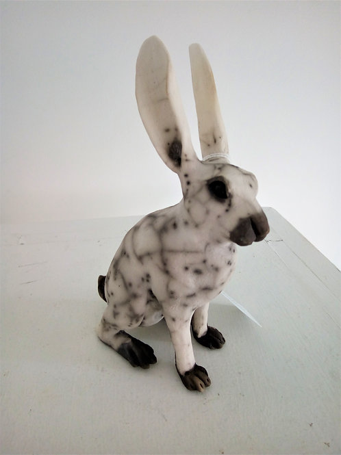 Raku Hare by Ella Massingberd