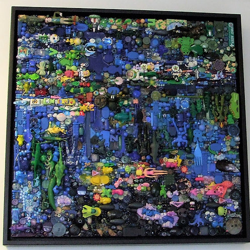 """Waterlilies after Monet"" by Jane Perkins"