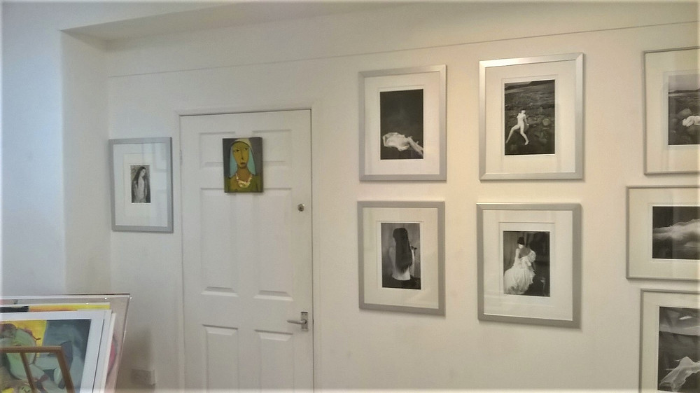 Valentine Blush - Contemporary photography, contemporary painting, Devon artists: Martin Dowding and Megan Players