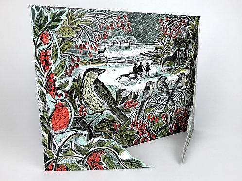 Advent Calendar -Winter Hedgerow