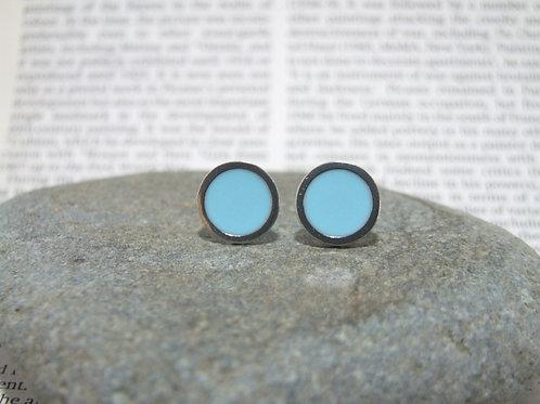 Bright Sky stud earrings by Lawrence Gibson (KOA)