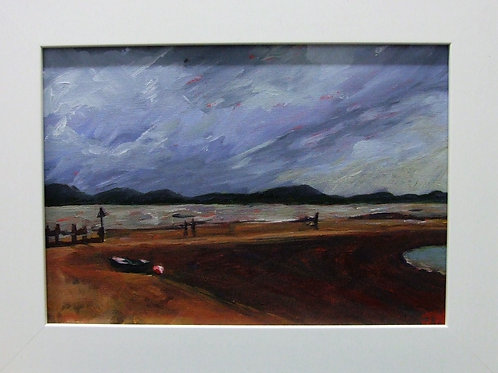 """Stormy Exmouth"" by Janet Hockley"