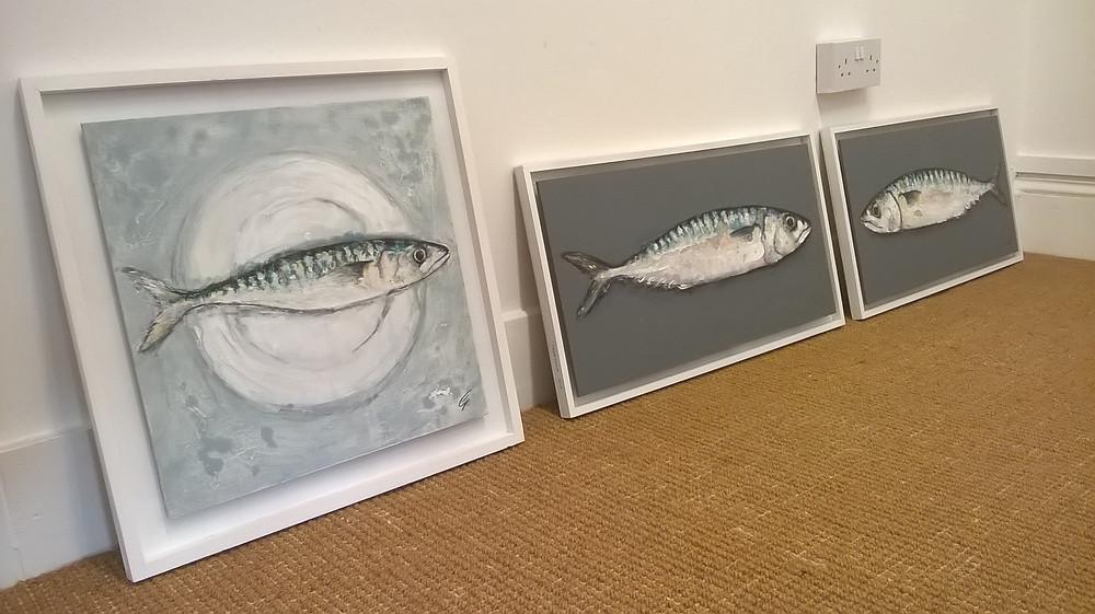 Giles Ward Fish painting