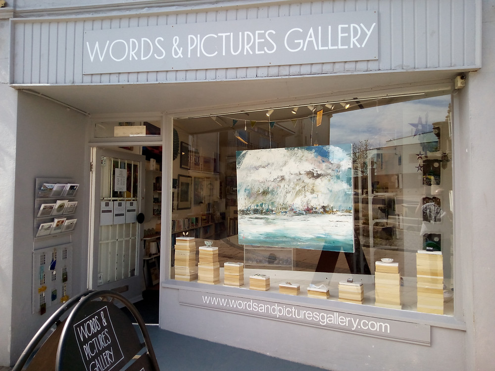 Words and Pictures Gallery in Teignmouth Devon