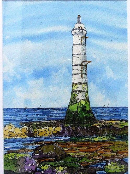 """Shaldon Lighthouse"" by Kathryn Loram"