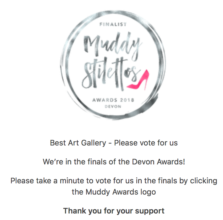 Muddy Stilettos Awards