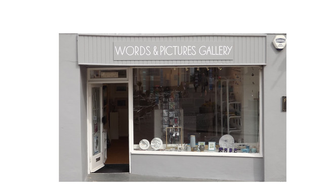 WORDS & PICTURES GALLERY IS OPENING
