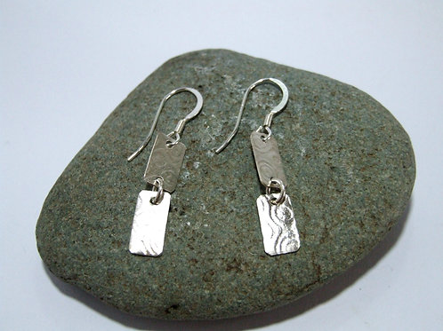 Sterling Silver drop earrings by Sue Jones SJ973