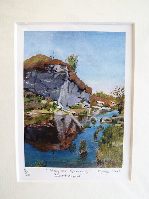Mike Wall - 'Haytor Quarry'
