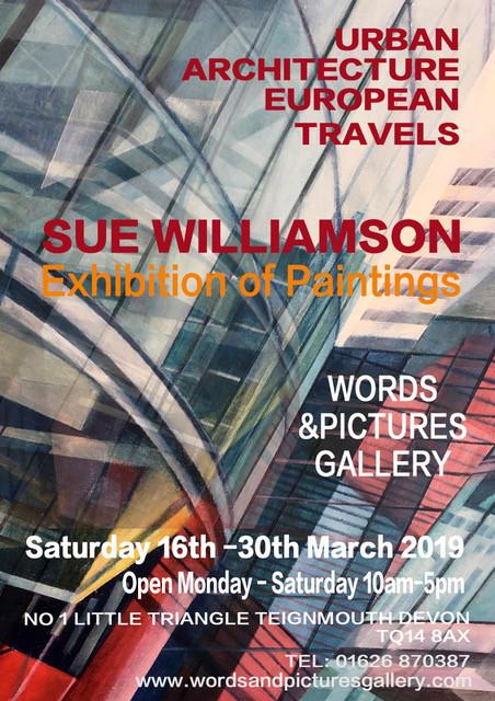 Sue Williamson Painting exhibition