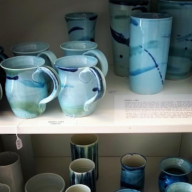 New Andrea Usher Ceramics
