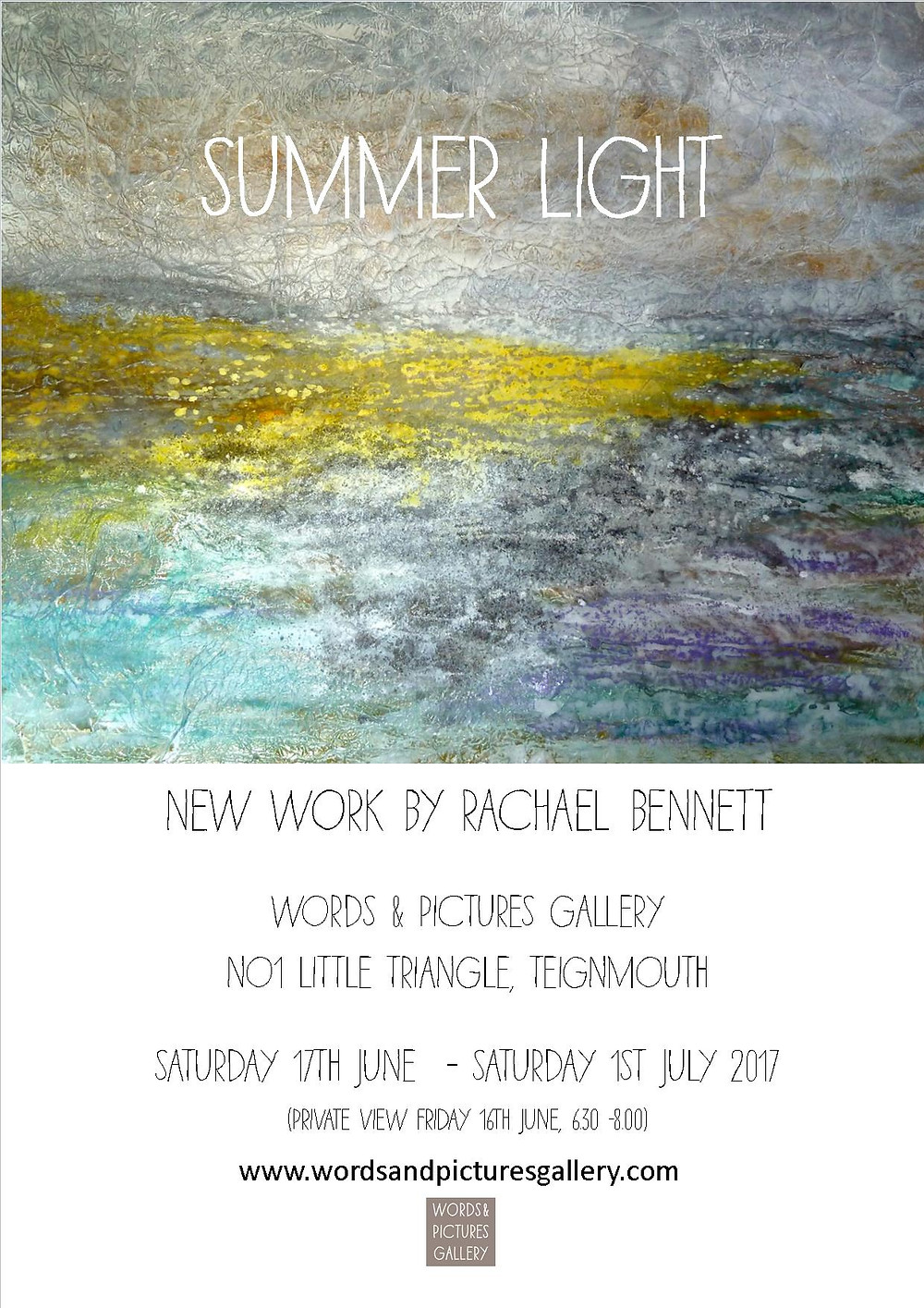 Rachael Bennett contemporary painting contemporary gallery Devon