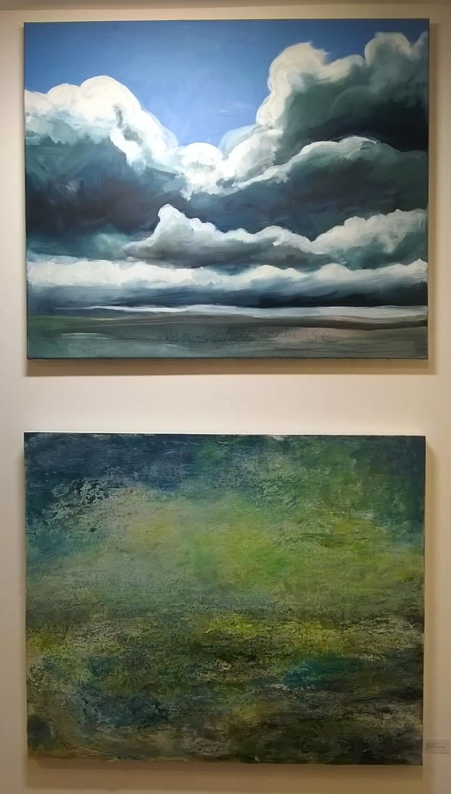 New Paintings in the gallery