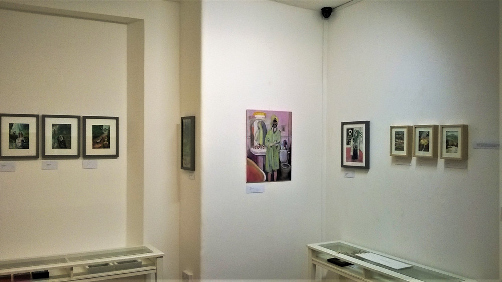 Lori Diggle - 'Crossings' exhibition at Words & Pictures Gallery, Teignmouth