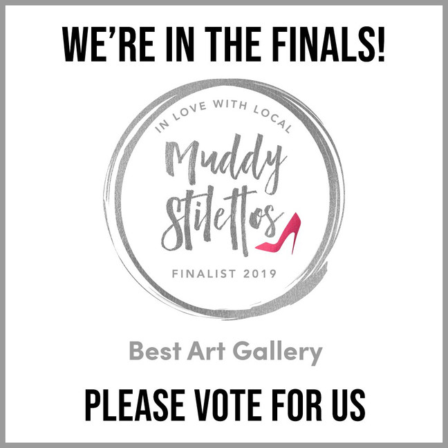 We are in the Finals!!! Best Gallery in Devon Category - Please vote for us again.