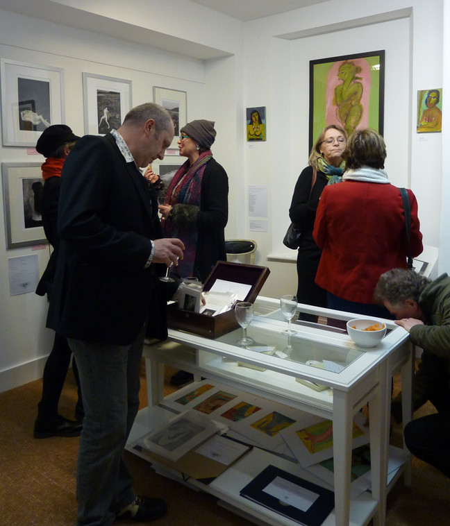 'Valentine Blush' Meet The Artist Event on the 14th February was brilliant