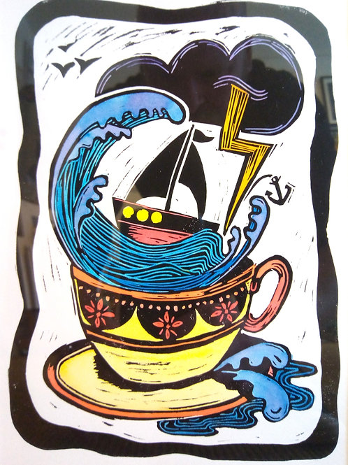'Storm in a Teacup' by Carolyn Shaw