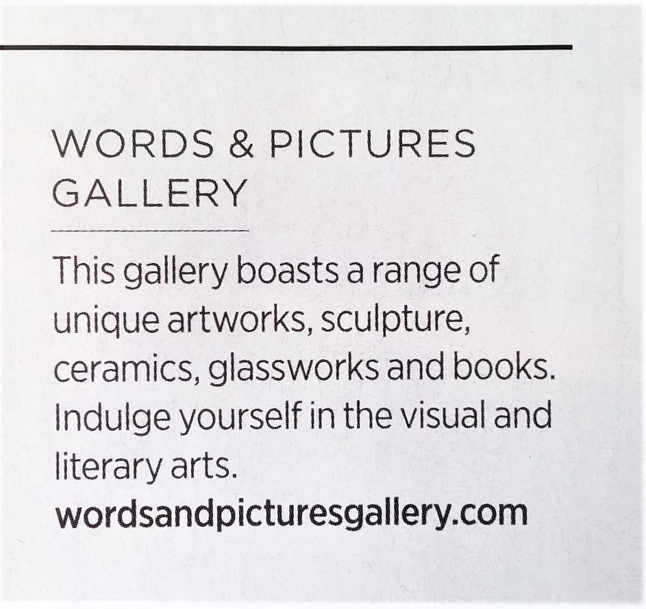 words and pictures gallery