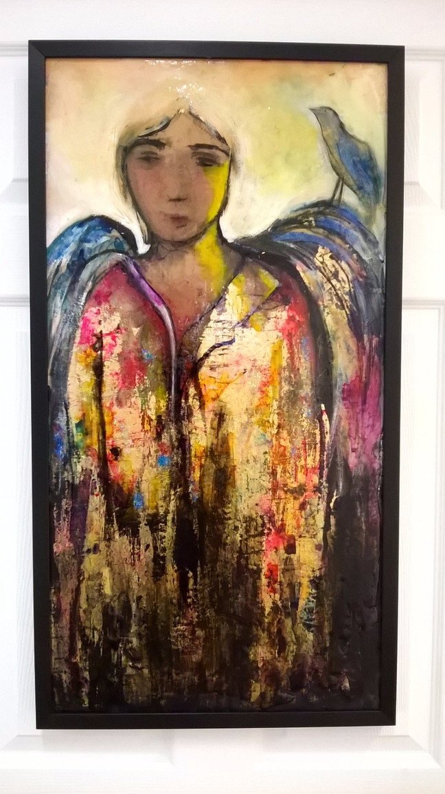 'The Entertaining Angel' - an exhibition of painting by Anna Fitzgerald