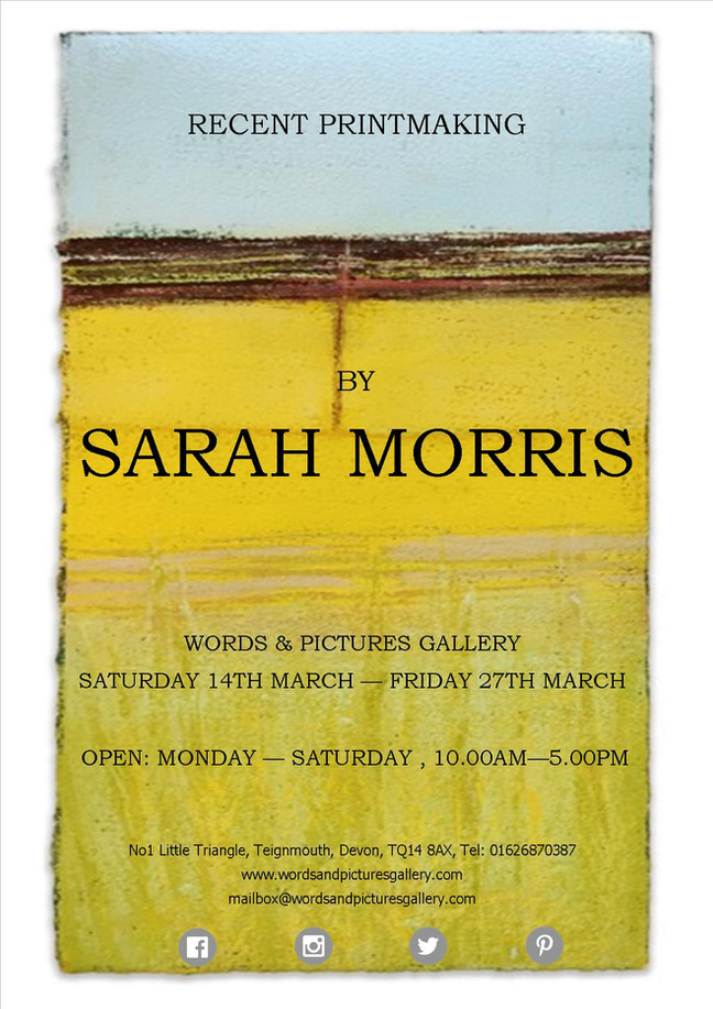Sarah Morris Print-Maker exhibition