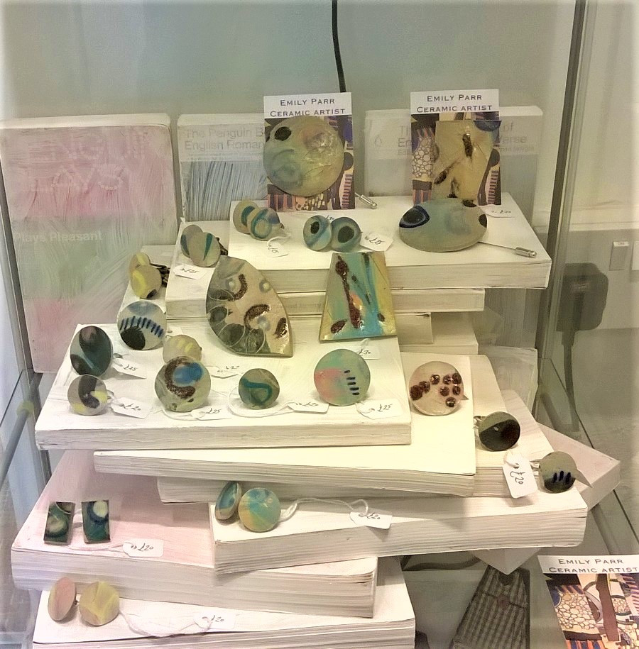 contemporary jewellery contemporary ceramics contemporary gallery Devon Emily Parr