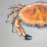 Giles Ward 'Crab Painting'