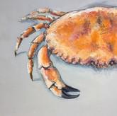Giles Ward 'Crab Painting'