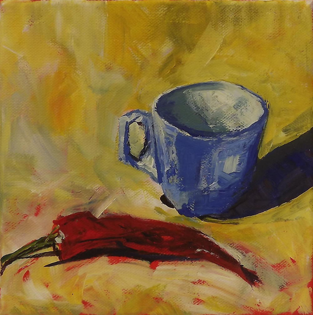 Janet Hockley Still Life available at Words & Pictures Gallery