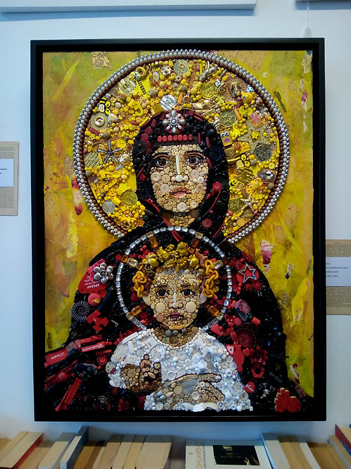 'Madonna and Child (after Vrubel)' By Jane Perkins