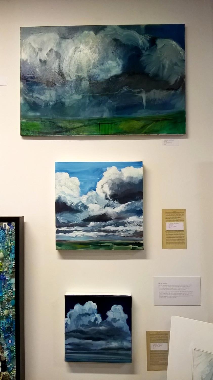 oil on canvas, Caroline Wightman, Teignmouth