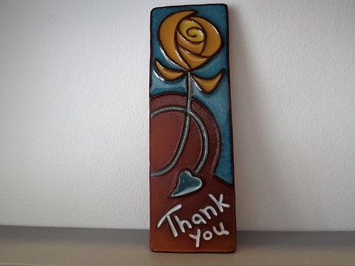 Ann-Mari Hopkin 'Thank You' tile