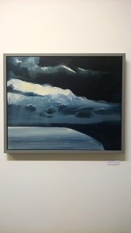 Gathering Light Caroline Wightman Oil Painting contemporary art